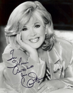 CONNIE STEVENS - AUTOGRAPHED INSCRIBED PHOTOGRAPH 1998