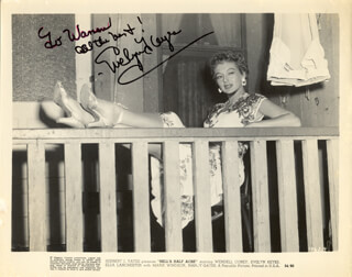 EVELYN KEYES - AUTOGRAPHED INSCRIBED PHOTOGRAPH