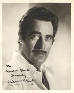 GILBERT ROLAND - AUTOGRAPHED INSCRIBED PHOTOGRAPH