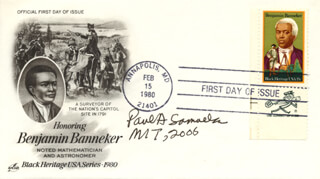 PAUL A. SAMUELSON - FIRST DAY COVER SIGNED 2006