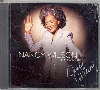 NANCY WILSON - DVD/CD COVER SIGNED