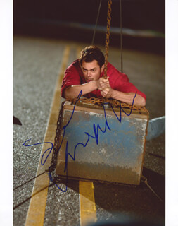 JOHNNY KNOXVILLE - AUTOGRAPHED SIGNED PHOTOGRAPH
