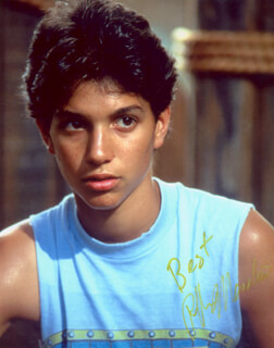 RALPH MACCHIO - AUTOGRAPHED SIGNED PHOTOGRAPH