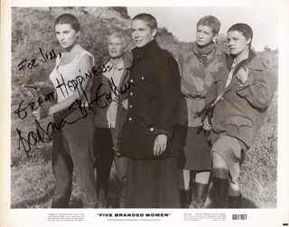 BARBARA BEL GEDDES - AUTOGRAPHED INSCRIBED PHOTOGRAPH