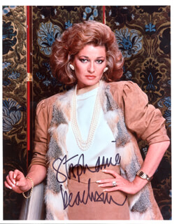 STEPHANIE BEACHAM - AUTOGRAPHED SIGNED PHOTOGRAPH