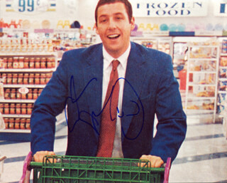 ADAM SANDLER - AUTOGRAPHED SIGNED PHOTOGRAPH