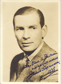 JAMES STEPHENSON - AUTOGRAPHED INSCRIBED PHOTOGRAPH 1938