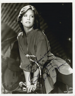 DEBBY BOONE - AUTOGRAPHED INSCRIBED PHOTOGRAPH