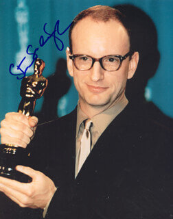 STEVEN SODERBERGH - AUTOGRAPHED SIGNED PHOTOGRAPH