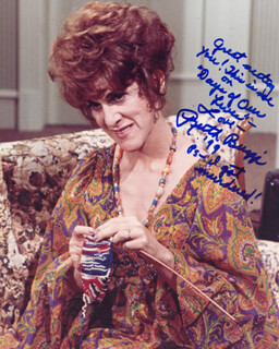 RUTH BUZZI - AUTOGRAPHED SIGNED PHOTOGRAPH 1999