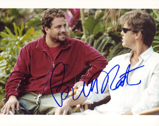 BRETT RATNER - AUTOGRAPHED SIGNED PHOTOGRAPH CIRCA 2005