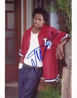 NICK CANNON - AUTOGRAPHED SIGNED PHOTOGRAPH