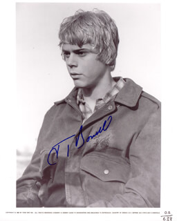 C. THOMAS HOWELL - AUTOGRAPHED SIGNED PHOTOGRAPH