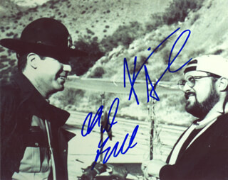 JAY AND SILENT BOB STRIKE BACK MOVIE CAST - AUTOGRAPHED SIGNED PHOTOGRAPH CO-SIGNED BY: WILL FERRELL, KEVIN SMITH