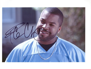 Autographs: ICE CUBE - PHOTOGRAPH SIGNED