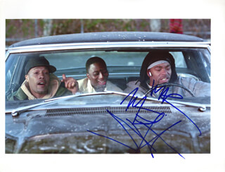Autographs: METHOD MAN - PHOTOGRAPH SIGNED