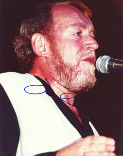 JOE COCKER - AUTOGRAPHED SIGNED PHOTOGRAPH