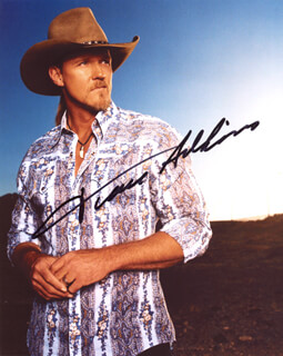 TRACE ADKINS - AUTOGRAPHED SIGNED PHOTOGRAPH