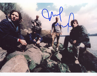 PEARL JAM (MIKE MC CREADY) - AUTOGRAPHED SIGNED PHOTOGRAPH