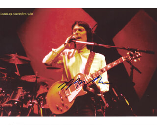 STEVE WINWOOD - AUTOGRAPHED SIGNED PHOTOGRAPH