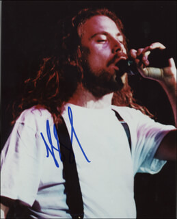 ARMORED SAINT (JOHN BUSH) - AUTOGRAPHED SIGNED PHOTOGRAPH