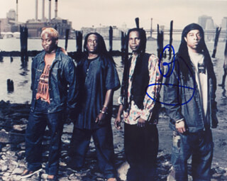 LIVING COLOUR (COREY GLOVER) - AUTOGRAPHED SIGNED PHOTOGRAPH