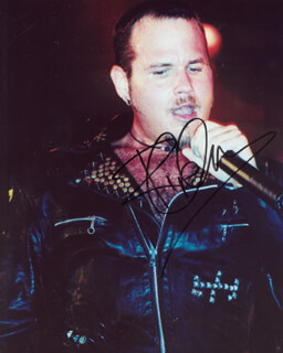 TIM THE RIPPER OWENS - AUTOGRAPHED SIGNED PHOTOGRAPH