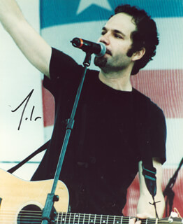 JOHN (FIVE FOR FIGHTING) ONDRASIK - AUTOGRAPHED SIGNED PHOTOGRAPH