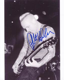 SICK OF IT ALL (PETE KOLLER) - AUTOGRAPHED SIGNED PHOTOGRAPH