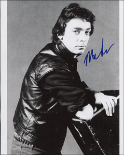 GENESIS (STEVE HACKETT) - AUTOGRAPHED SIGNED PHOTOGRAPH