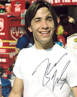 JUSTIN LONG - AUTOGRAPHED SIGNED PHOTOGRAPH