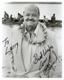 WILLIAM CONRAD - AUTOGRAPHED INSCRIBED PHOTOGRAPH