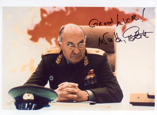 WALTER GOTELL - AUTOGRAPHED SIGNED PHOTOGRAPH