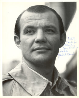 MICHAEL CONRAD - AUTOGRAPHED INSCRIBED PHOTOGRAPH