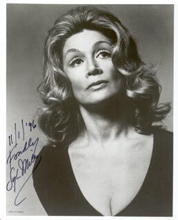 SYLVIA MILES - AUTOGRAPHED SIGNED PHOTOGRAPH 11/01/1996