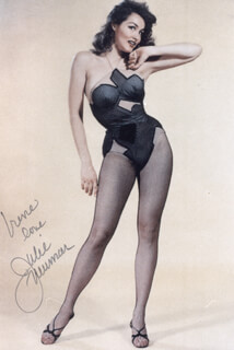 JULIE NEWMAR - AUTOGRAPHED INSCRIBED PHOTOGRAPH