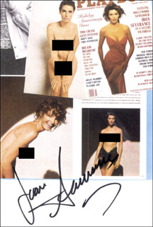 JOAN SEVERANCE - AUTOGRAPHED SIGNED PHOTOGRAPH