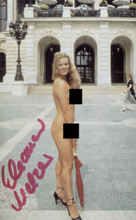 ELEANOR MELZER - AUTOGRAPHED SIGNED PHOTOGRAPH