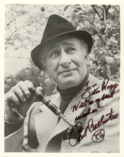 CARL BALLANTINE - AUTOGRAPHED INSCRIBED PHOTOGRAPH 1986