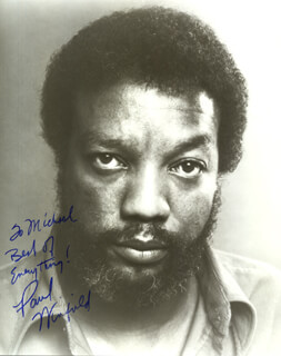 PAUL WINFIELD - INSCRIBED PAMPHLET SIGNED