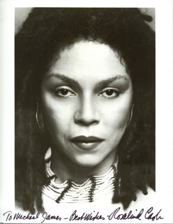 ROSALIND CASH - AUTOGRAPHED INSCRIBED PHOTOGRAPH