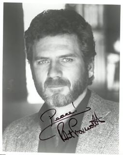 ROBERT FOXWORTH - AUTOGRAPHED SIGNED PHOTOGRAPH