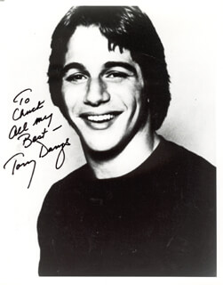 TONY DANZA - AUTOGRAPHED INSCRIBED PHOTOGRAPH