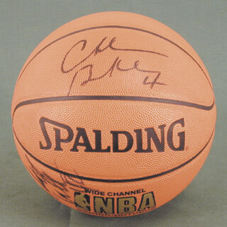 CHARLES SIR CHARLES BARKLEY - BASKETBALL SIGNED CO-SIGNED BY: STEVE STEVIE FRANCHISE FRANCIS, WALT THE WIZARD WILLIAMS