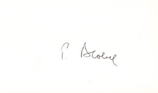 Autographs: GUNTER BLOBEL - SIGNATURE(S)