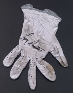 Autographs: LARRY LAORETTI - GOLF GLOVE SIGNED