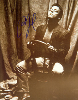 BILLY JOEL - AUTOGRAPHED SIGNED PHOTOGRAPH