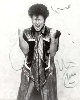 GARY GLITTER - AUTOGRAPHED SIGNED PHOTOGRAPH