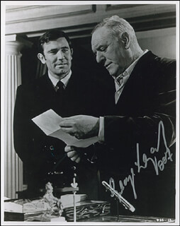 GEORGE LAZENBY - AUTOGRAPHED SIGNED PHOTOGRAPH