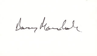 Autographs: BARRY J. MARSHALL - SIGNATURE(S)